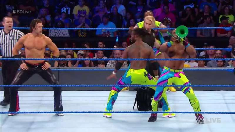 Wwe Smackdown Live Results 13th June 2017 Latest Winners And Video Highlights