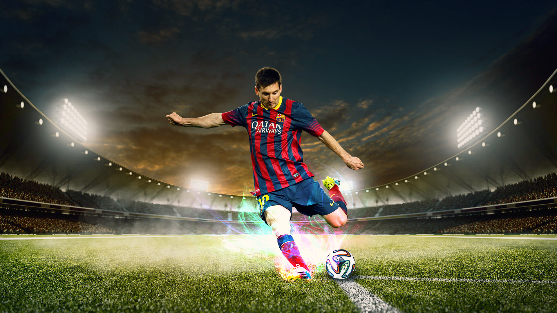 Download Wallpaper Sport Football: Lionel Messi HD Wallpapers