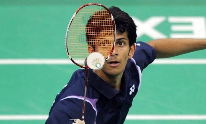 India's Ajay Jayaram moved into the third round of the 2015 Canada Open with a straight games 21-15 21-16 win over Huang Yuxiang of China in 34 minutes in the second round.