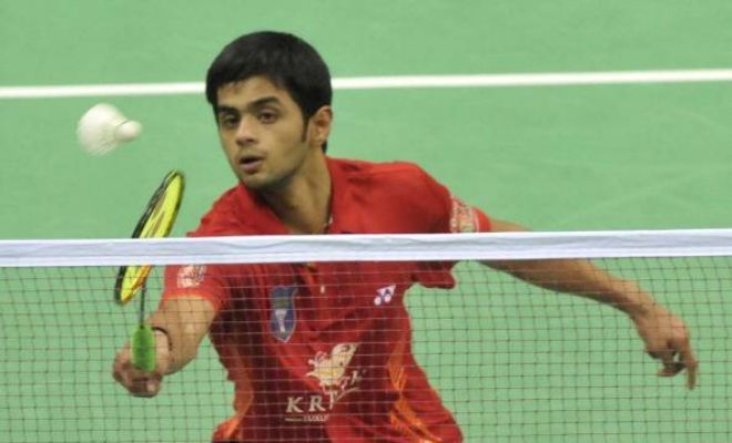 Sai Praneeth continued his impressive recent run, after defeating Jan Frohlich of Czech Republic 21-14 21-16 in 28 minutes in the second round.