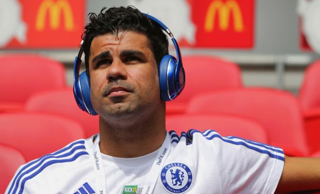 Diego Costa absent today due to 'discomfort in his hamstring,' says Jose Mourinho.