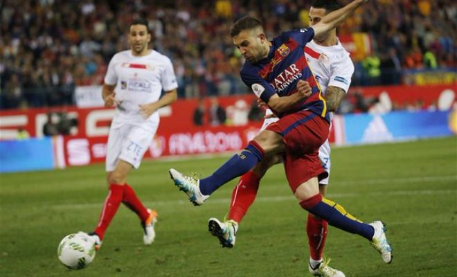 Is this the moment that wins Barcelona the Copa del Rey final?