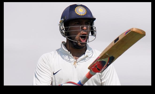 Yuvraj scored a ton and resurrected Punjab's innings against Madhya Pradesh in Ranji Trophy