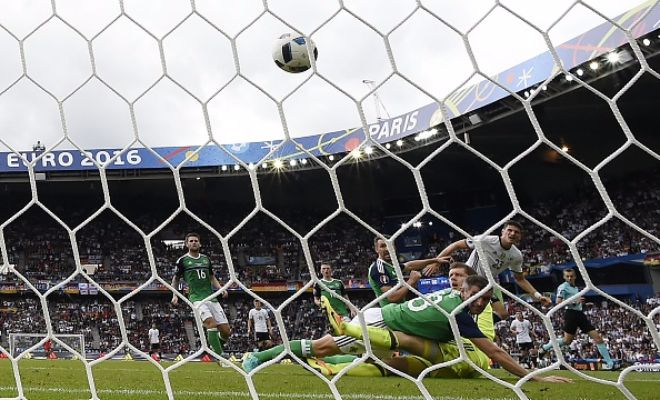 Here's a look at the Gomez goal that gave Germany the lead over N Ireland.