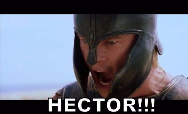 HECTOR!!! Nope, another effort from range is waaay off target!