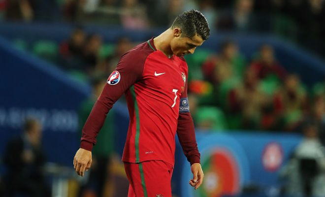 Will this be Ronaldo's expression at the end of the game?