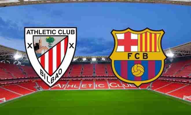 Athletic Bilbao vs Barcelona Live Score and Commentary, La ...