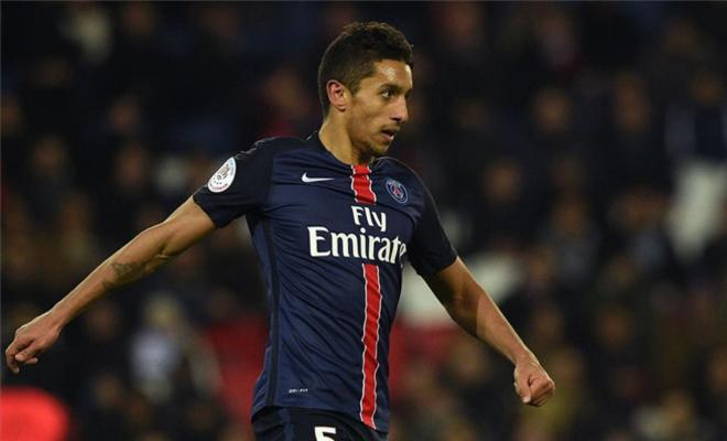 """MARQUINHOS WANTS PSG STAYBarcelona and Bayern target Marquinhos wants to sign a new contract at PSG. The Brazilian, 22, has established himself as a key-first team player at PSG after David Luiz's departure. """"I would like to stay here. This is my fourth year at PSG, I have adapted to life here and I speak French,"""" he told AS. """"In addition, my family feels good in Paris. Things are going well and I would love to stay here, I hope to sign a [contract] renewal. It does not just depend on me, but also on whether my performances are good."""""""