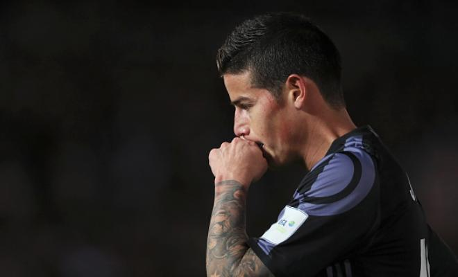 """MENDES: 'JAMES NOT LEAVING'James Rodriguez will not leave Real Madrid in January, according to his agent Jorge Mendes. Speaking to AS, his representative Mendessaid: """"James will not leave in January."""" However, if his situation does not improve in the second half of the season, the Colombia captain could look for a way out in June."""