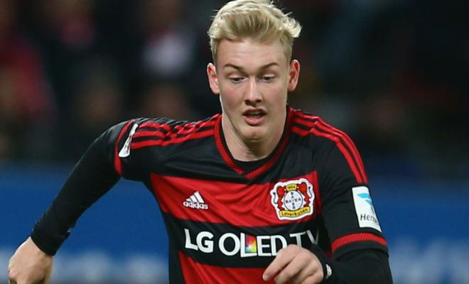 United to rival Arsenal, Liverpool for BrandtBayer Leverkusen's Julian Brandt is the subject of interest from various Premier League clubs. Manchester United are the latest to join the queue to acquire the services of the talented 20-year-old, who has been in sensational form for Leverkusen this season.Only Dortmund's Ousmane Dembele and Leipzig's Emil Forsberg have more assists than Brandt in this season's Bundesliga.