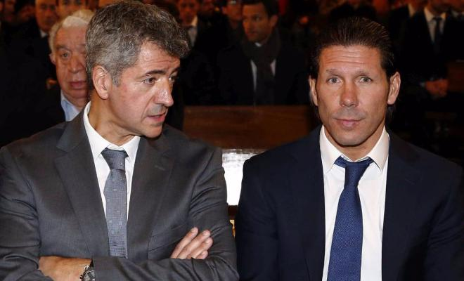 Simeone will stay with Atletico next seasonAtletico Madrid's chairman Miguel Angel Gil Marin has confirmed that Diego Simeone will at least honor his contract with theRojiblancos.Cholo's contract runs until the end of the 2017-2018 season.