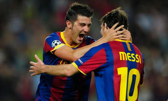 """[Lionel] Messi, he's the best. The reason is simple. Because he is the best."" - David Villa when he was asked who the best player in the world was."