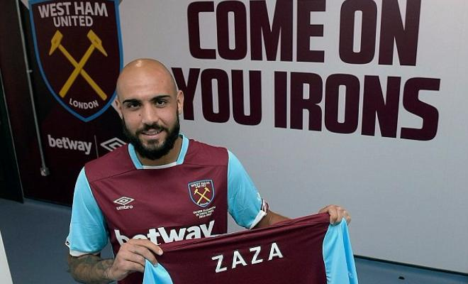 ZAZA COULD LEAVE WEST HAMSimone Zaza is said to be unhappy after joining West Ham this summer, and he is attracting interest from the likes of Valencia.