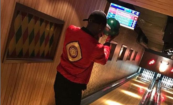 Paul Pogba does not seem too worried about the big match does he?Arguably the biggest and most watched fixture in the Premier League is coming up on Monday, but the enigmatic Frenchman is pretty relaxed,indulging in a game of bowling. And yes the hashtag #pogbowling was used