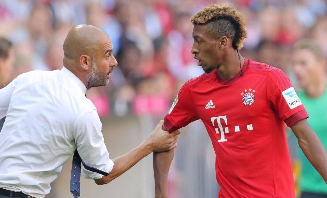 MAN CITY ARE INTERESTED IN KINGLSEY COMANIt is rumoured that Man City are looking to sign Kinglsey Coman. Manager Pep Guardiola is a known fan of the frenchman, having bought the starlet to Bayern Munich.