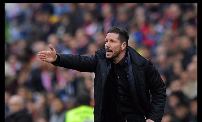 DIEGO SIMEONE HAILS CARRASCOThe Atletico coach said