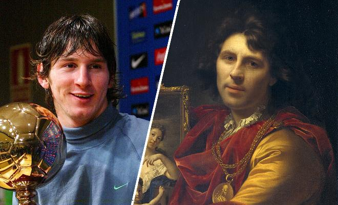 IS LEO MESSI A VAMPIRE????A tourist spots a 17th-century portrait in Holland that looks EXACTLY LIKE THE ARGENTINE GENIUS