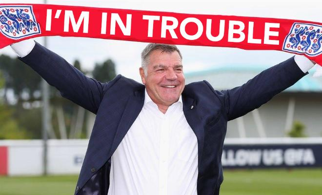 Sam Allardyce is reportedly set to be sacked as England manager.