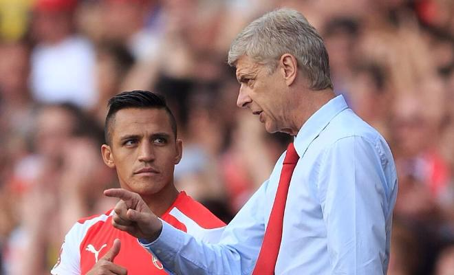 WENGER SAYS ALEXIS ADJUSTING TO CENTRAL ROLEThe 66 year old French coach has praised Alexis Sanchez, saying