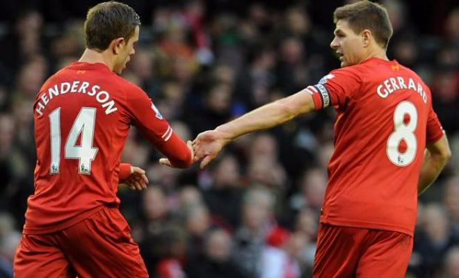 GERRARD DEFENDS HENDERSONSteven Gerrard has talked up Jordan Henderson's contribution to Liverpool, and also praised his goal against Chelsea. He said