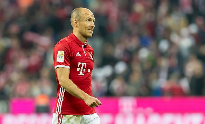 ROBBEN KEEN TO MAKE UCL RETURNThe Dutch winger wants to make the Bayern Munich starting line-up even after facing minor issues with injuries.