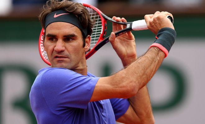 Men's category: Federer (2) v. Monfils (13); Berdych (4) v. Tsonga (14); Nishikori (5) v. Gabashvili; Wawrinka (8) v. Simon (12).