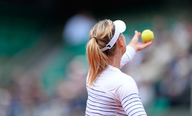 Women's category: Sharapova (2) v. Safarova (13); Ivanovic (7) v. Makarova (9); Svitolina (19) v. Cornet (29); Muguruza (21) v. Pennetta (28).