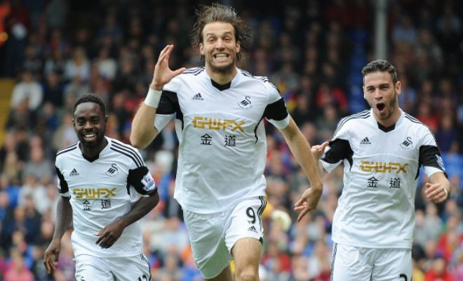 Celtic are preparing a move for unsettled Swansea striker Michu. [ Daily Express ]