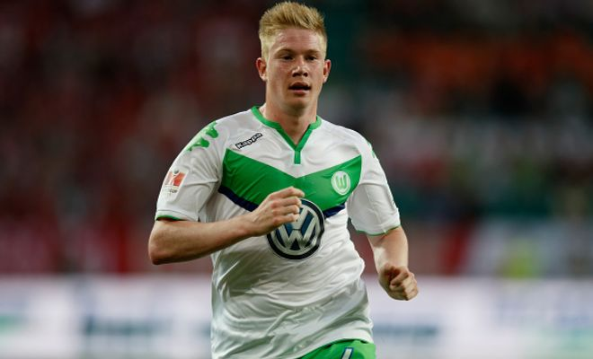 Wolfsburg will sell Kevin De Bruyne to Manchester City if the club meet their asking price of £57m. [Independent]