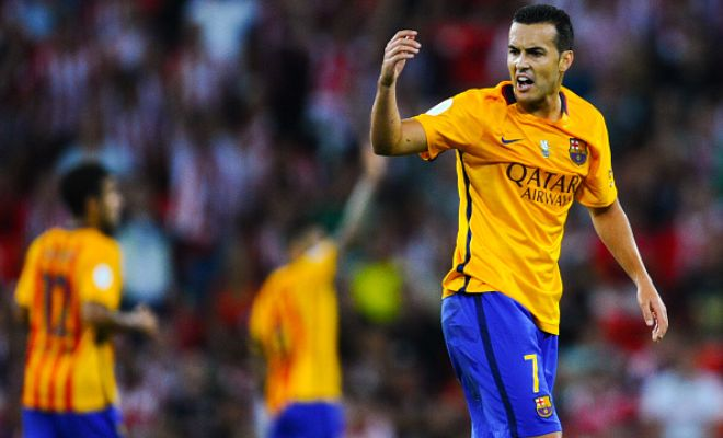 Chelsea confirm Pedro signing from Barcelona on a 4-year contract