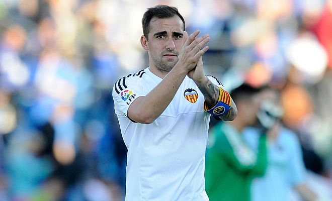 Barcelona interested in Valencia's Paco Alcacer!!The Catalans are willing to part with forward Sergi Samper in an attempt to obtain the services of Alcacer. Barcelona are willing to part with  €24m for the striker, but Valencia are holding out for more. In an order to reduce the asking price and sweeten the deal, Barcelona are willing to include Samper as part of the deal.