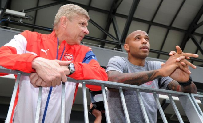 HENRY STRAIGHT BACK TO COACHING?Thierry Henry left Arsenal yesterday after a fall out with Arsene Wenger but it looks like he's already got 2 other coaching job offers on his table!Watford and West Ham United are reportedly the clubs to have made an offer to the Arsenal legend who is currently working as a pundit for Sky Sports.
