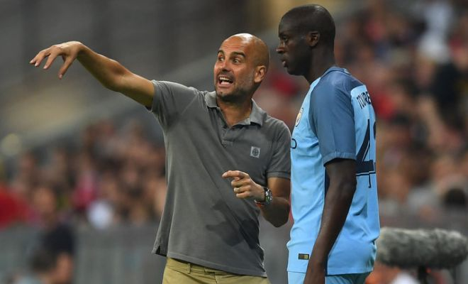 Yaya 'to where' ?Yaya Toure could soon leave the Etihad as he did not travel to Romania with City's squad for tomorrow's Champions League first leg qualifier against Steaua Bucharest and was also left out in the Premier League opener. Toure has one year left on a £250,000-a-week contract and City are likely find it hard to move on the 33-year-old with such huge salary demands.