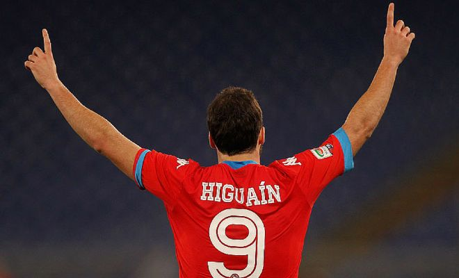 HIGUAIN TO JUVENTUS?Reports emerging from Italy that Juventus have agreed personal terms with Gonzalo Higuain! They are yet to make an official bid for him but Napoli are said to be holding out for his €94 million release clause.