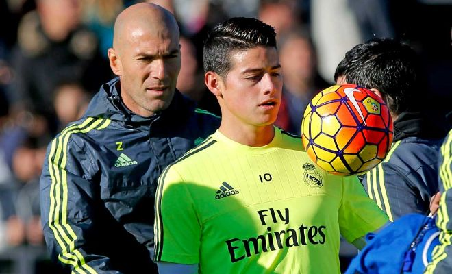 James Rodriguez to stayReal Madrid boss Zinedine Zidane says James Rodriguez will stay at the Bernabeu this summer. The Colombian was linked with several clubs after spending most of his time on the bench last season.