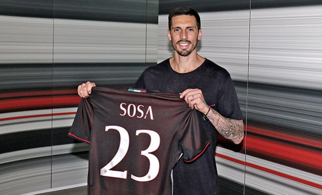 AC Milan ready for the new seasonJose Sosa is officially an AC Milan player.