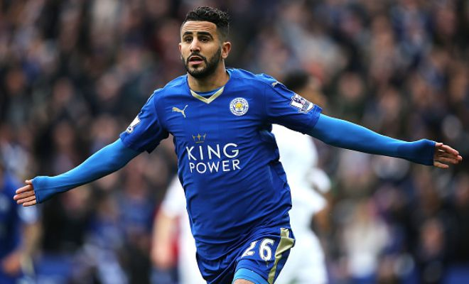 MAHREZ TO MANCHESTER CITY?Riyad Mahrez gets yet another massive transfer offer, this time from MANCHESTER CITY!Leicester City though are said to be demanding at least £45 MILLION for the winger!
