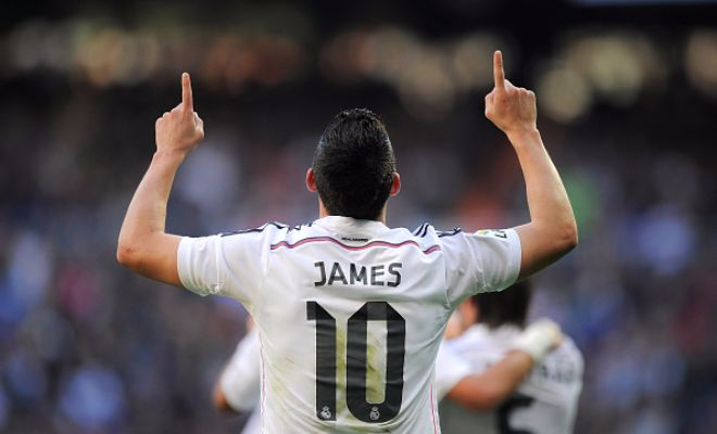 Huge news coming in! Reliable sources are stating that Chelsea are in 'advanced talks' with Real Madrid to sign James Rodriguez. The emergence of teenage wonderkid Marco Asensio has pushed James further down the pecking order and the Blues are preparing to swoop in. The price is said to be around 70 million pounds