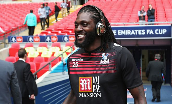 Former Real Madrid and Arsenal player to Calgiari? Gazetta report that Emmanuel Adebayor who is now a free agent has attracted interest from from the Italian side.