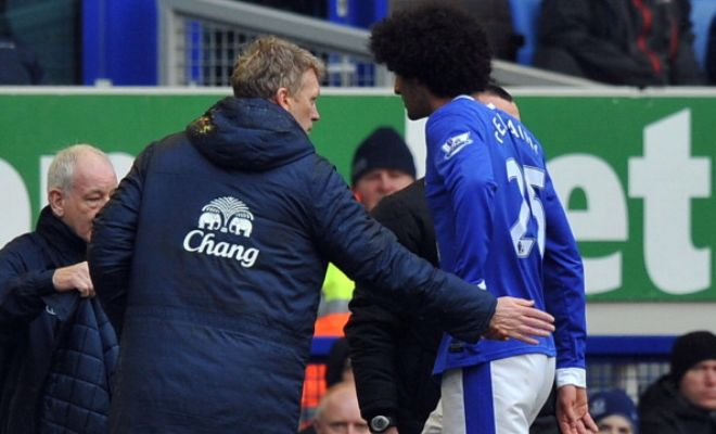 The love story continues ... David Moyes wants Manchester United midfielder Marouane Fellaini at Sunderland according to Daily Express.