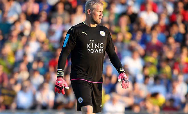 Leicester shot stopper Kasper Schmeichel agrees new 5 year deal to stay at The King Power Stadium according to ESPN sources. Schmeichel would be glad he wasn't a part of the Foxes' squad yesterday though, as Leicester were beaten 4-2 by Barcelona in the International Champions Cup