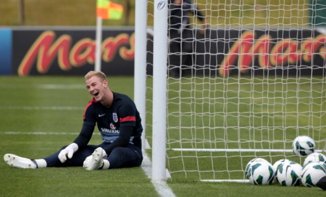 NO NEW GOALKEEPER! Joe Hart must be relieved after Manchester City ruled out a move for a new goalkeeper reports The Sun.