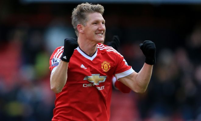 Rojo IN; Bastian OUT! Sky Sports report that Bastian Schweinsteiger was seen training away from the main group today. The midfielder has been told that he does not have a future at the club. Marcos Rojo on the other hand was seen training with the main group and looks to have some sort of a future at the club at the moment.