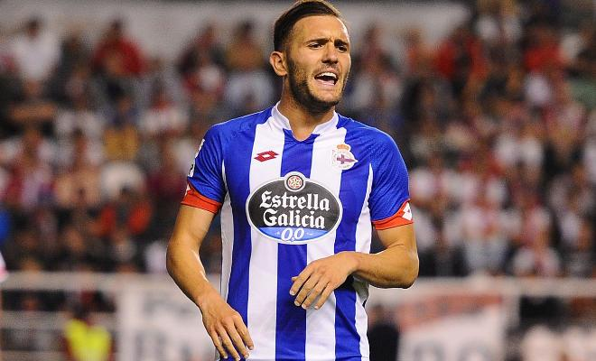 CAN THE GUNNERS FINALLY MANAGE TO LAND A STRIKER? Arsenal has agreed to a deal to sign Deportivo La Coruna striker Lucas Perez after meeting his buy-out clause of £17.1m, according to Sky sources. Perez will now undergo a medical and discuss personal terms before the move can be finalised. The striker has also been withdrawn from Deportivo's squad against Real Betis tonight.