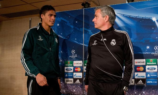 VARANE REJECTED MAN UTDJose Mourinho offered to double Raphael Varane's wages if he joined him at Manchester United, but the Frenchman opted to stay put at Real Madrid after speaking to coach Zinedine Zidane.