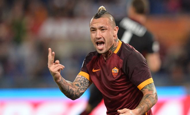 "It looks like Radja Nainggolan will stay at AS Roma.""Everything is calm with Sabatini. Will I stay at Roma? Yes, I'm going to remain here.""Huge blow for Chelsea?"