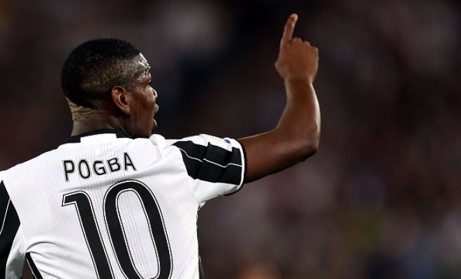 Italian journalist Gianluca Di Marzio claims Manchester United have agreed personal terms with Juventus midfielder Paul Pogba.