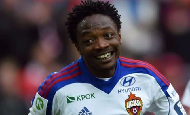 Champions strengthening againAhmed Musa is reportedly having a medical at Leicester City and is close to completing his transfer from CSKA Moskva so much so that Wikipedia have already updated their page on the forward!