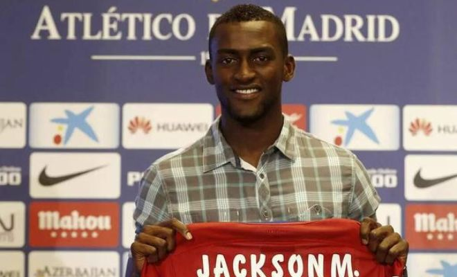 DONE DEAL: Jackson Martinez has completed a €35m move to Atletico Madrid. He will wear the no.11 shirt.