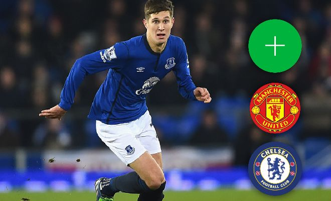 Manchester United have joined the race for Everton defender John Stones. (Sunday People)